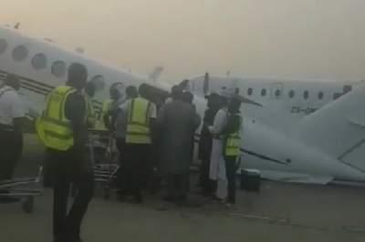 В Нигерии не смог взлететь самолет, набитый деньгами
