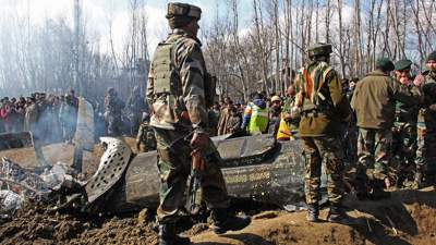 Военные Пакистана обстреляли территорию Индии