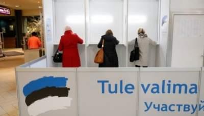 В Эстонии завершилось голосование на парламентских выборах