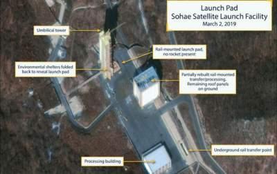 КНДР восстанавливает ракетный полигон