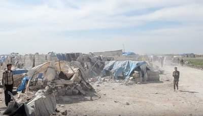 В Сирии среди толпы беженцев смертники подорвали себя