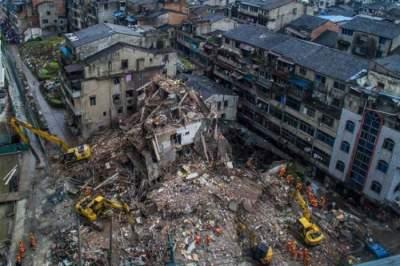 В Китае обрушились жилые здания: есть погибшие