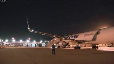 В аэропорту Токио столкнулись самолеты