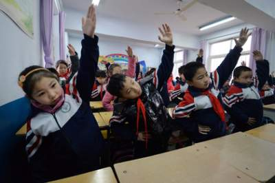 В Китае учительница вынудила второклассников избивать самих себя