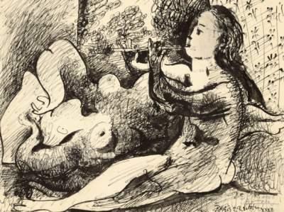 В Париже выставят на продажу редкий рисунок Пикассо