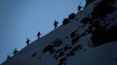 В Альпах снежная лавина накрыла группу туристов