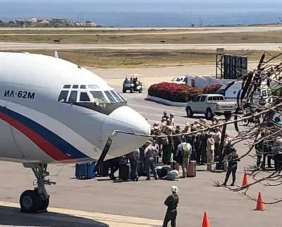 В Венесуэлу прибыли самолеты с военными РФ