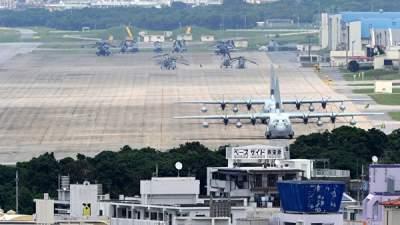 В Японии прогремел взрыв на американской военной базе