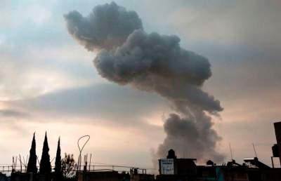 В Мехико взорвались склады с пиротехникой