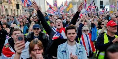 В Лондоне тысячи сторонников Brexit вышли на протест