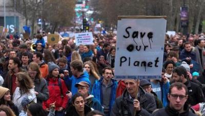 В Бельгии прошли акции в защиту климата