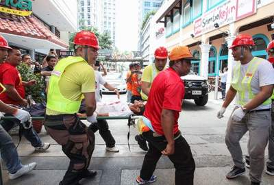 На Филиппинах взорвался ресторан: десятки раненых