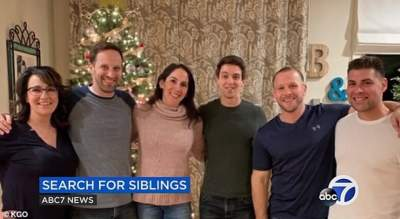 В США женщина случайно нашла 29 братьев и сестер