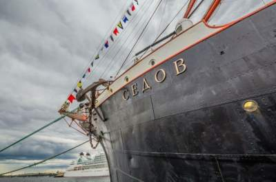 Польша не впустила судно РФ с крымскими курсантами