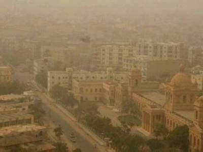 Пакистан накрыла песчаная буря, есть погибшие