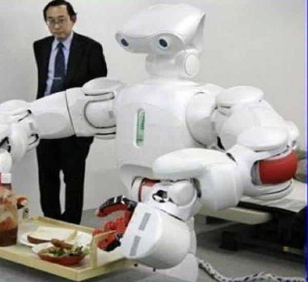 LG разрабатывает роботов для работы в ресторанах