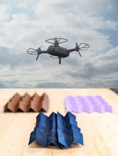 Основанная на оригами технология защитит беспилотники от столкновений