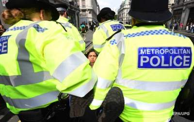 В Лондоне задержаны более 500 участников экологической акции