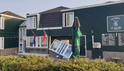 В Нидерландах прогремел взрыв в отеле