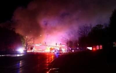 В США на химзаводе произошел взрыв