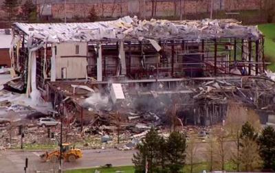 В США произошел взрыв на химзаводе, есть погибшие