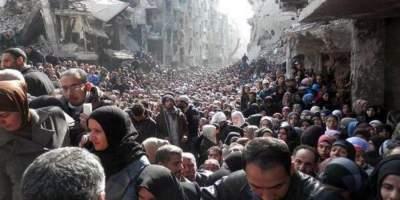 В Сирии обстреляли лагерь беженцев