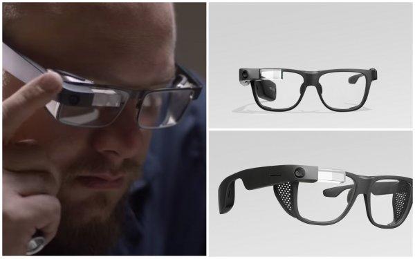 Можно управлять без рук: Google представила «умные» очки Glass Enterprise Edition-2