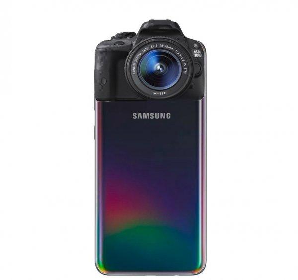 Samsung Galaxy A70S станет первым в мире смартфоном с камерой 64 Мп