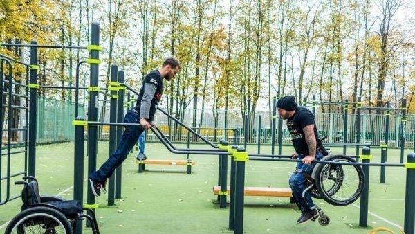Делать то, что важно: спортплощадки для инвалидов ParaKenguru