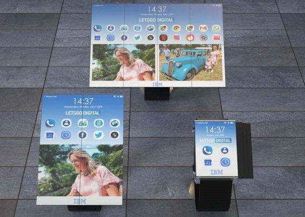 Круче, чем Galaxy Fold: В сети появились патенты планшета на запястье