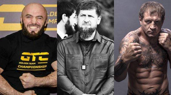 Кадыров «выбьет» зазнайство из Маги Исмаилова руками Емельяненко
