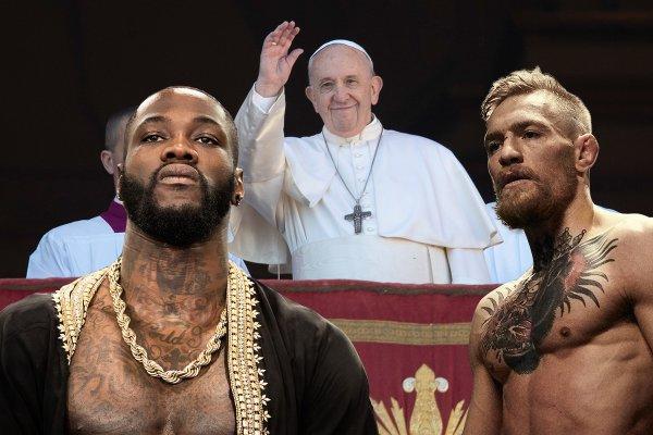 Святые бои: Ватикан благословил Уайлдера «отправить на небо» Фьюри