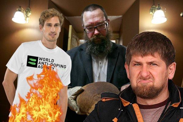 Стерлигов в команде Кадырова: Колдунов из WADA нужно сжигать