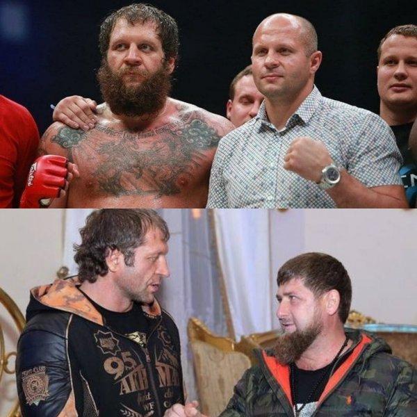 Брат дороже: Александр Емельяненко пойдёт с Фёдором на «мировую» наперекор диктату Кадырова