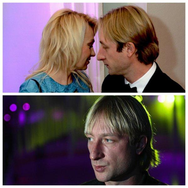 За флирт с Липницкой: Плющенко чуть не выбила глаз ревнивая жена?