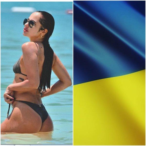 Гарна дивчина: Алина Буяльская показала все «прелести» украинского футбола
