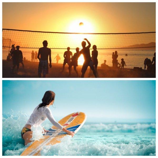Жаркие зимы Нуса-Дуа: Пляжный волейбол и сёрфинг Бали за копейки