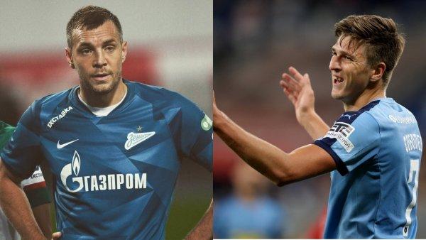 Черчесову придётся выбирать между Дзюбой и Соболевым перед Евро-2020
