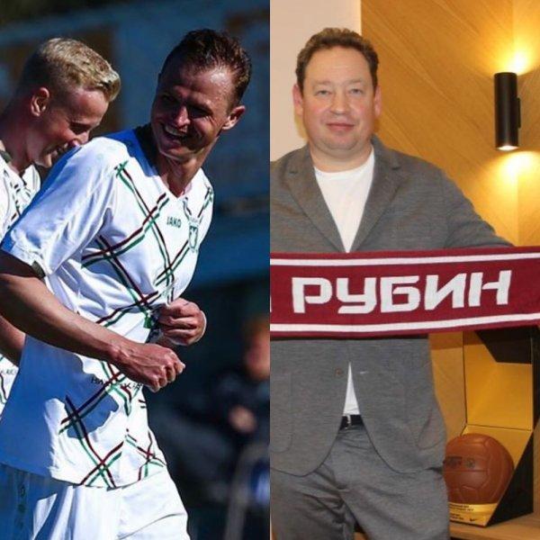 Благодарность Слуцкому: У Тарасова появился повод забивать за «Рубин»