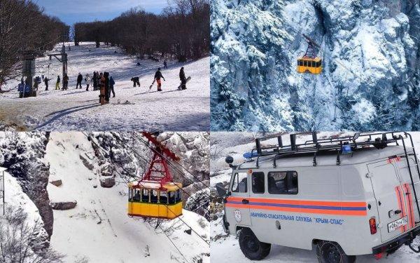 Ремонт валидольной «канатки» мешает спасению пострадавших на горнолыжке Ай-Петри
