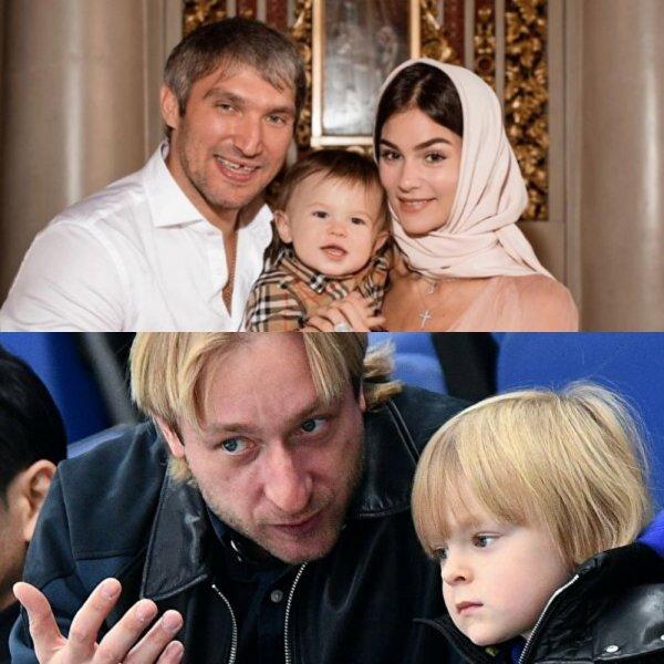 Ледяные страсти: Овечкин утёр красный нос Плющенко в роли отца