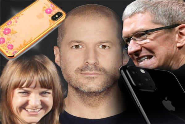 С женщиной на борту и Apple тонет. Чем опасен уход Джони Айва?