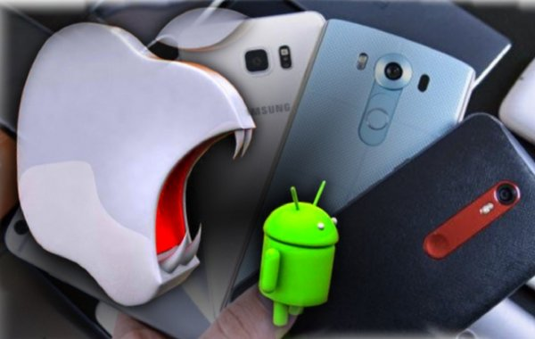 Apple принимает к обмену флагманские Android за 30 долларов