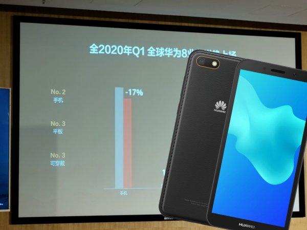 Смартфоны Huawei стали хуже продаваться