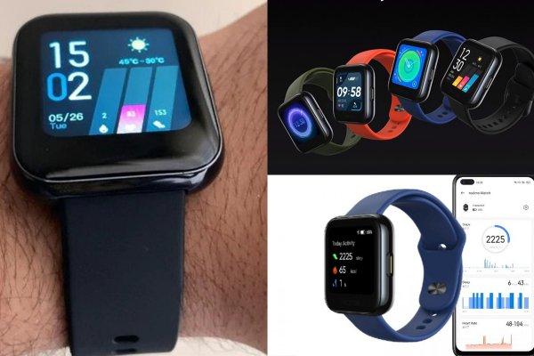 Стартовали продажи умных часов Realme Watch за 3600 рублей